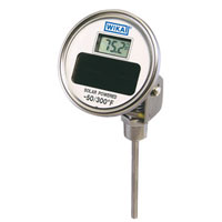 Solar Adjustable angle Thermometer